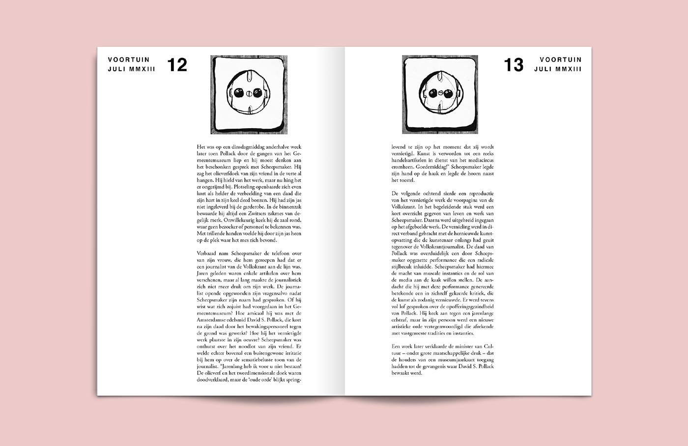 Indiemag magazine voortuin stack award Zine  mag nanda meijer tom janssen