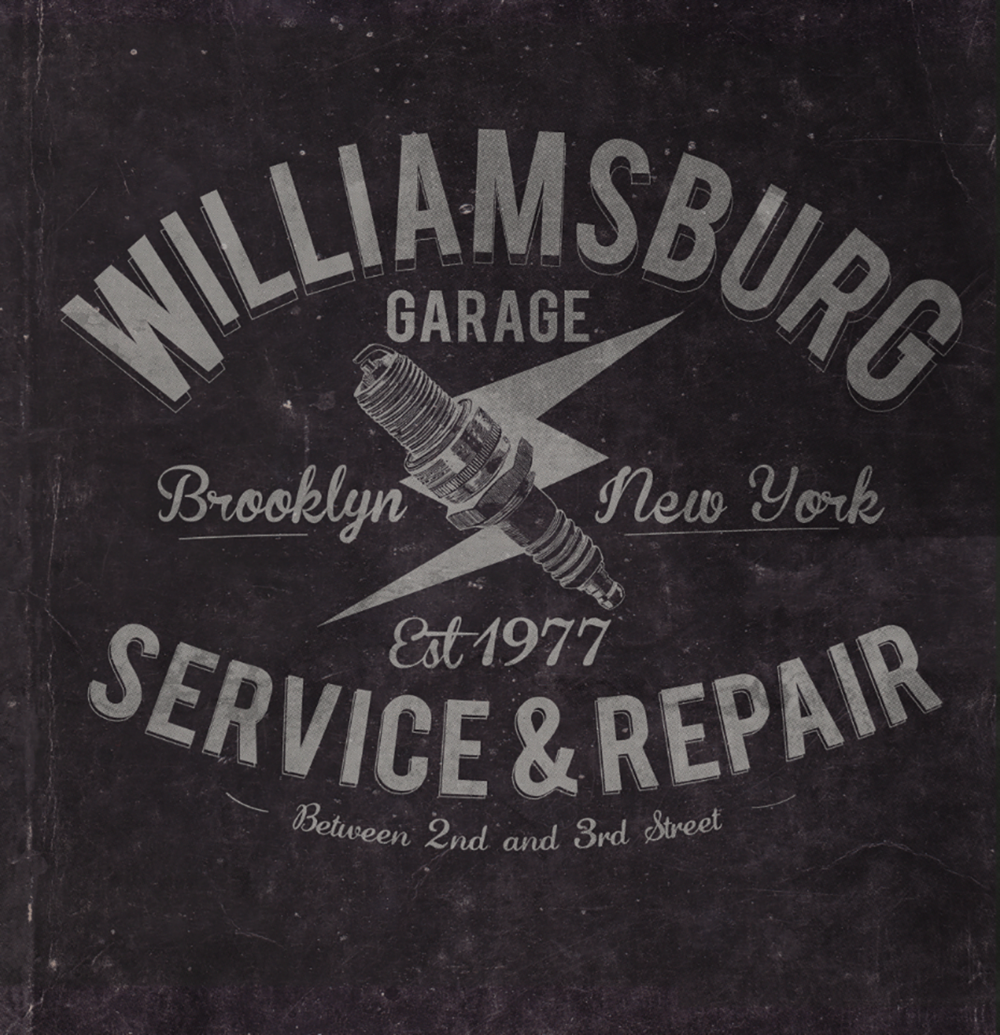 americana handrawn motorcycles old labels old signage Painted sewing machine Typeface vintage williamsburg
