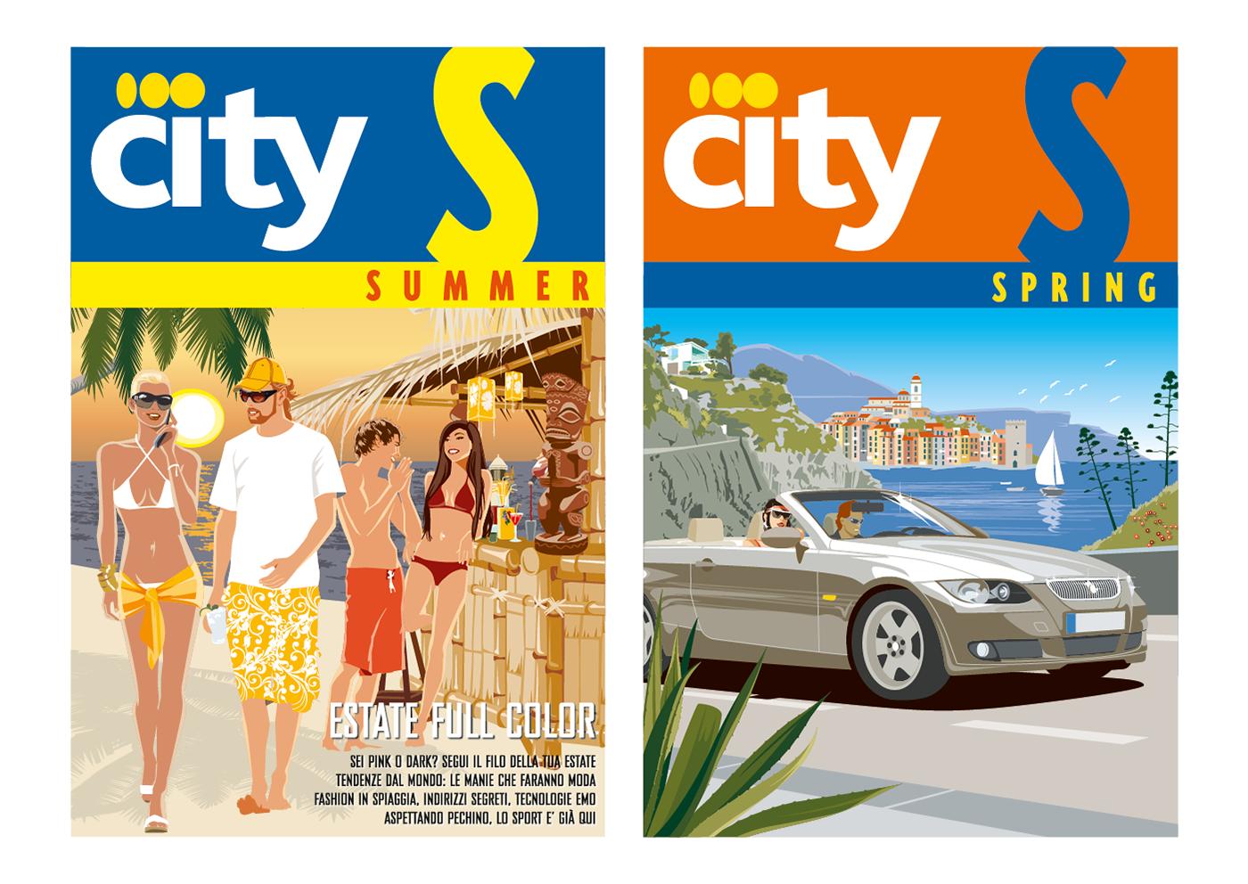 flat Illustrator Landscape lifestyle Travel Vectorial vettoriale viaggi