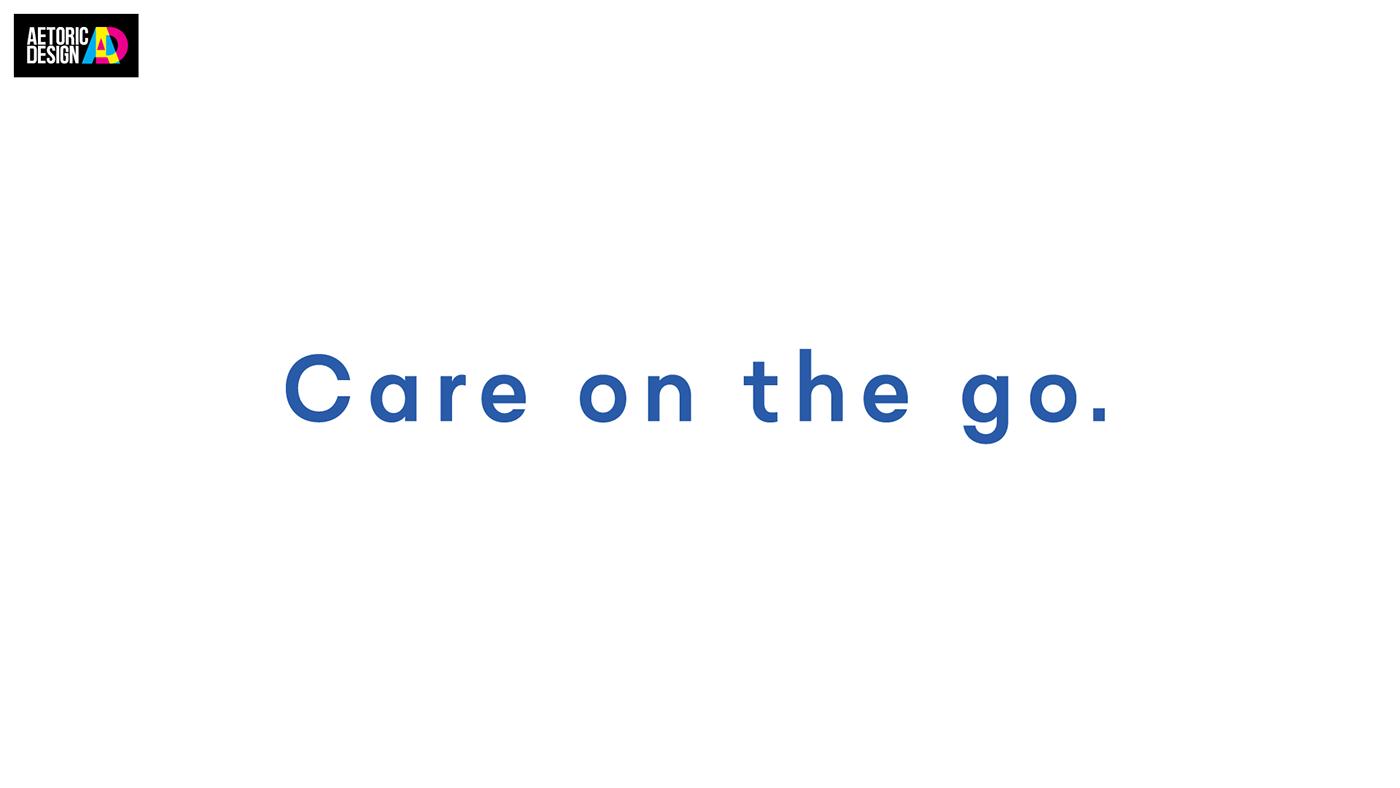 healthcare logo nursing nurse stairs steps Travel brand identity Adaptable Web Design