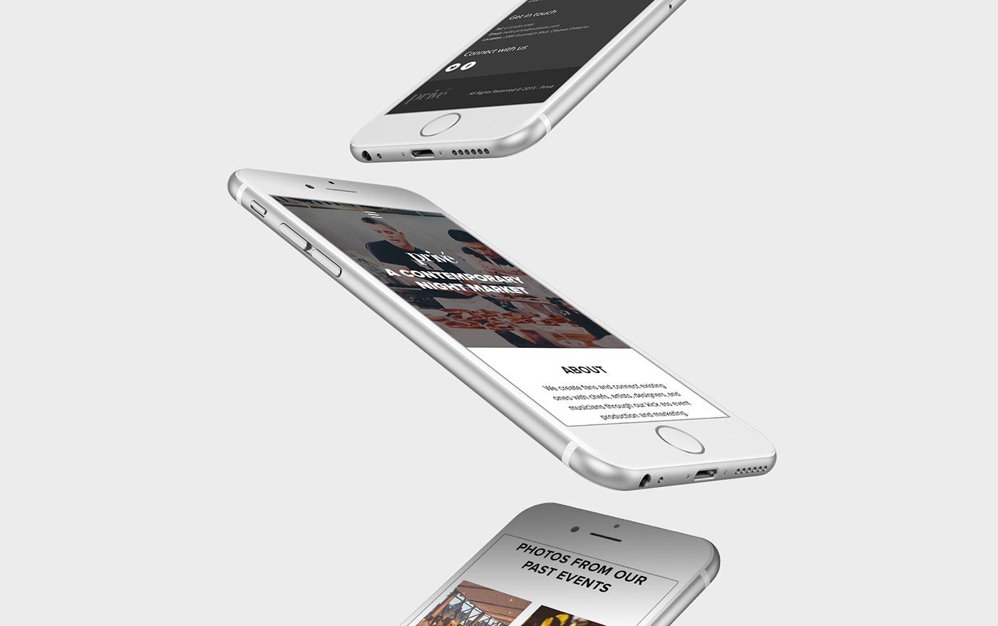 ottawa Fashion  Food  restaurant Web logo branding  graphic design  Web Design