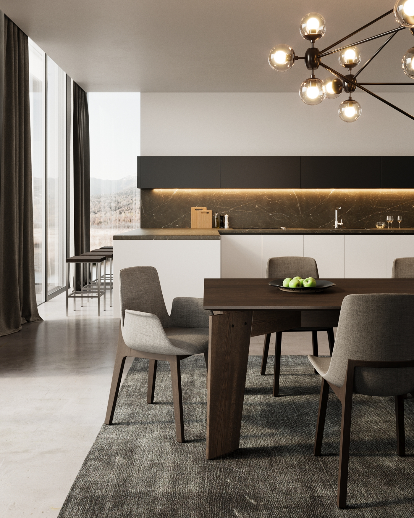 ... Poliform Varenna Kitchens. The Idea Is To Have Several Sets Of Images,  Showing Different Layouts And Different Models Of Kitchens In A  Photorealistic, ...