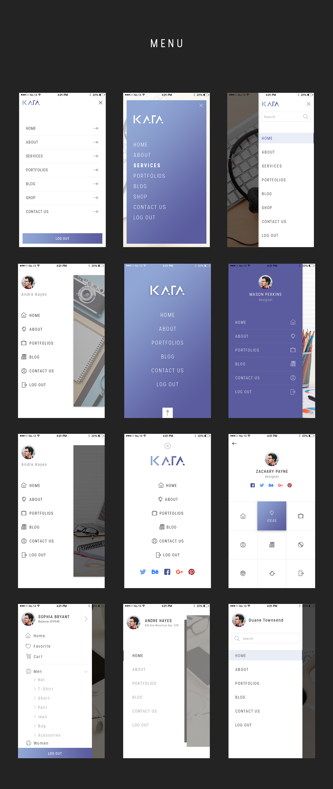 Kata UI Kit (User Interfaces)