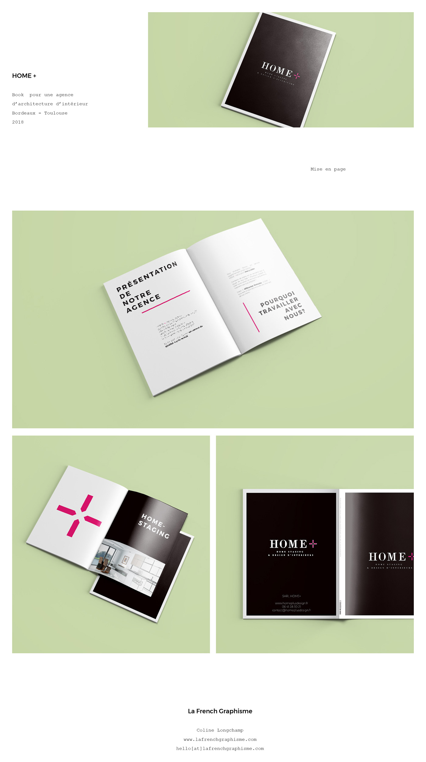 Home Staging Bordeaux home+ - print on behance