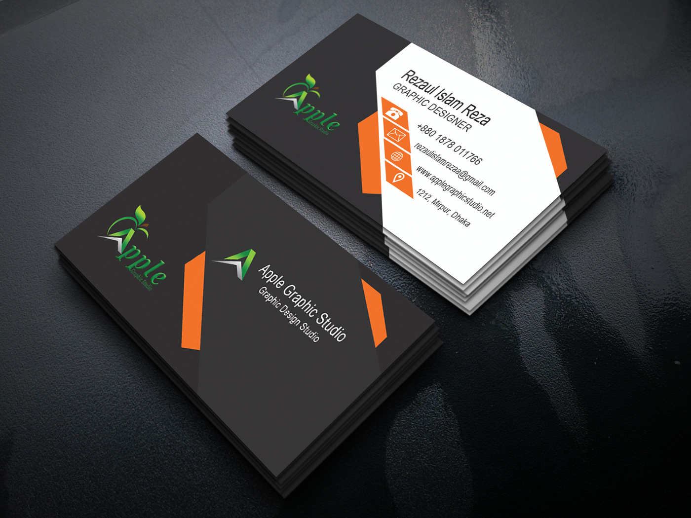 busines card on behance