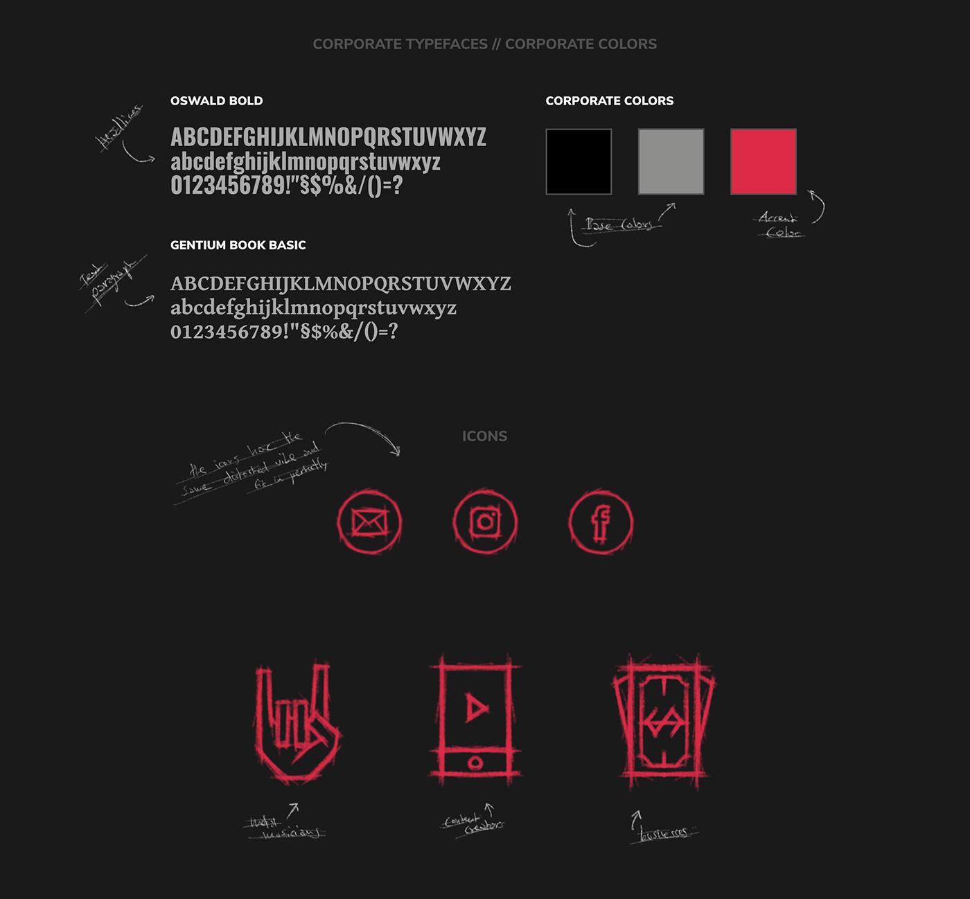 GALLANTEER // Typography