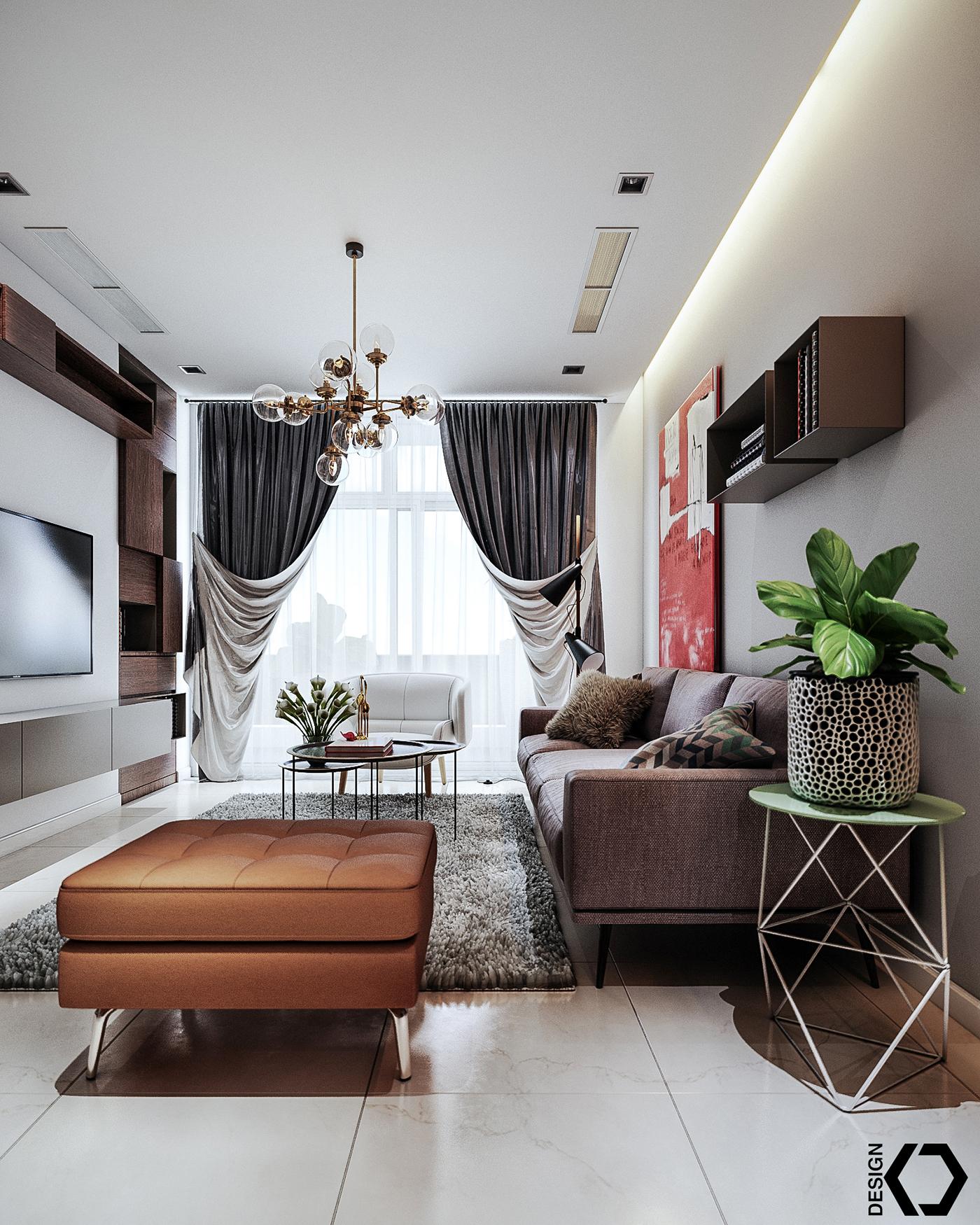 Center Park Apartments: P5 Apartment!! On Behance