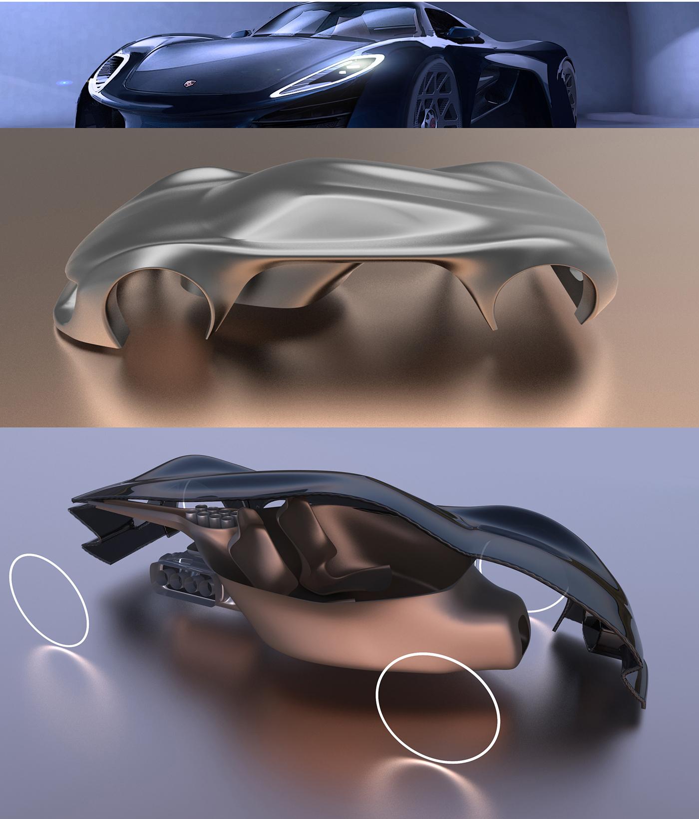 Bmw Z9: Porschaliscious Le Mans Concept On Behance