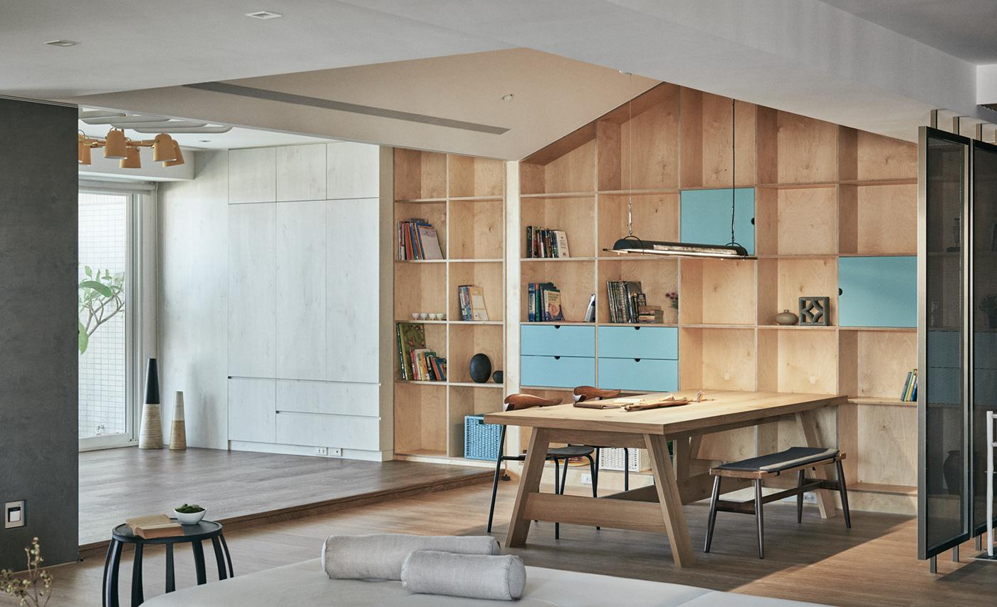 HAO DESIGN home style HOUSE DESIGN interior design  Residence wood zen decoratiom heycheese taiwan
