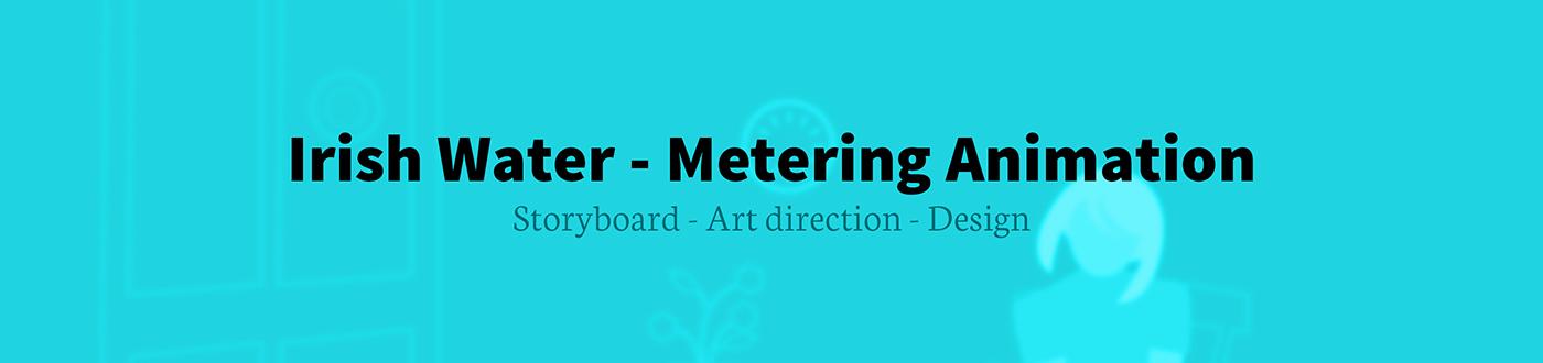 animation  water Metering Ireland video