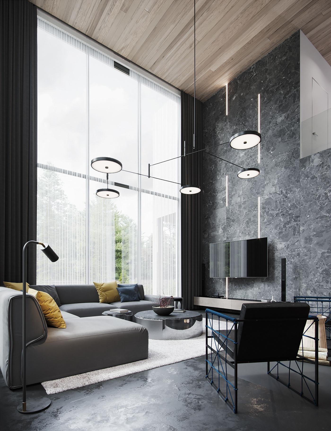 corona renderer CGI design Render Interior