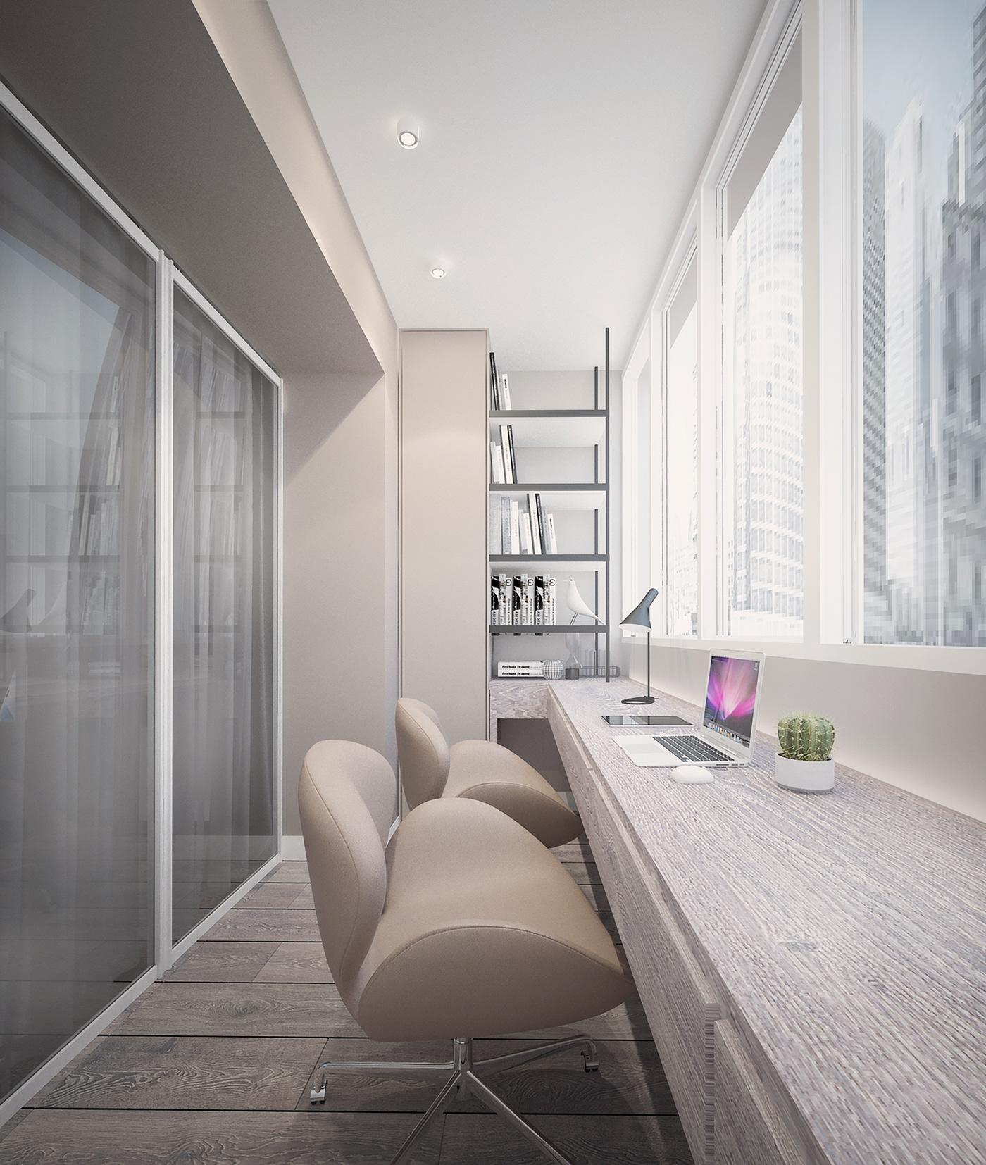 архитектура студия дизайн интерьера дизайнерское решение минимализм лоджия