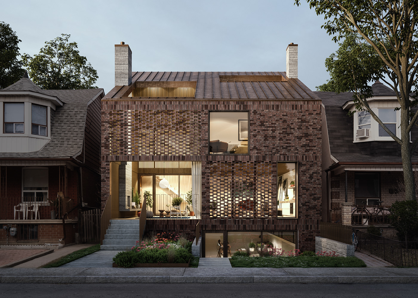 architecture rendering Render CGI real estate residential
