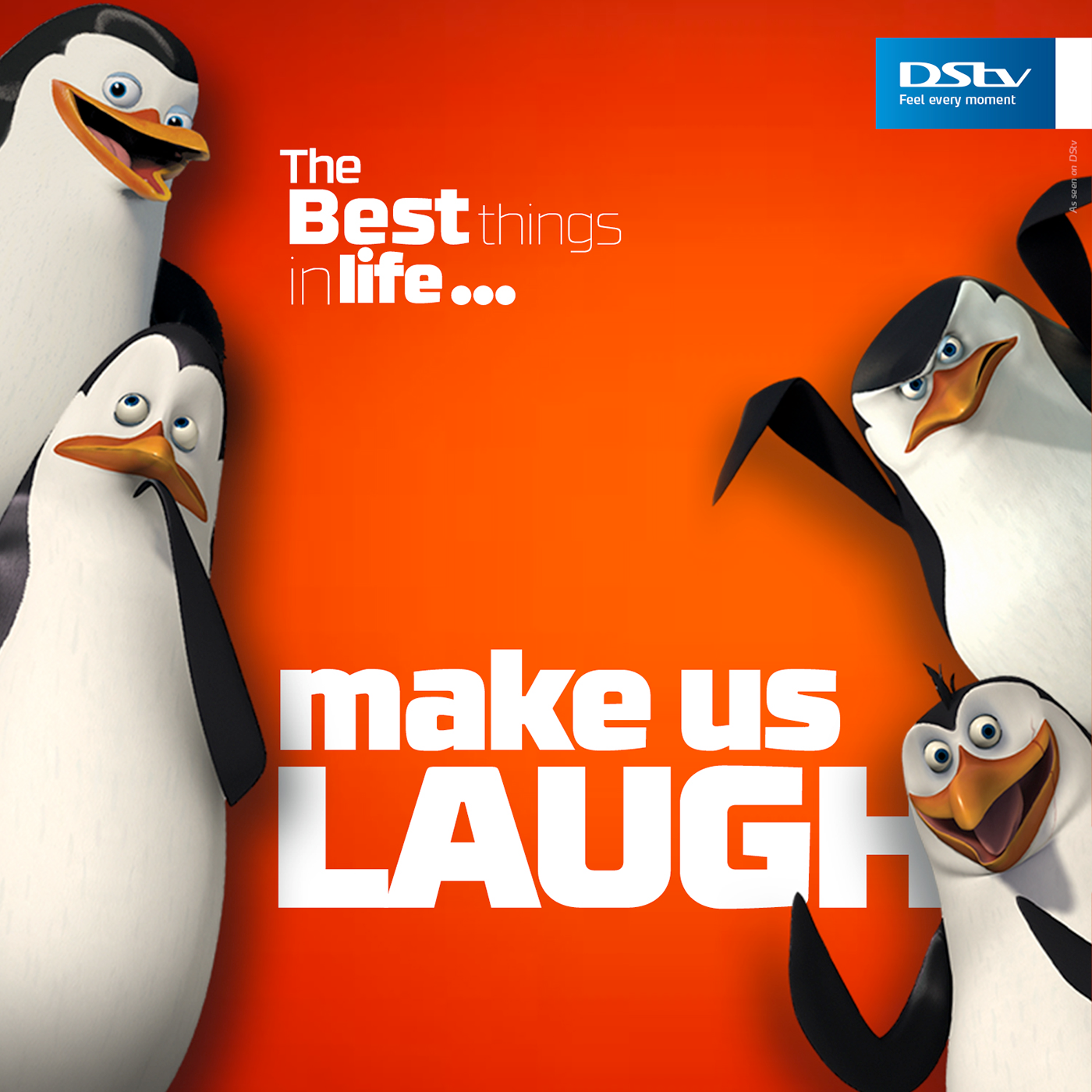 DStv / The Best Things In Life... On Behance