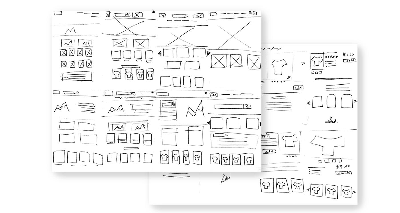 Responsive UI/UX Web Design  sketch