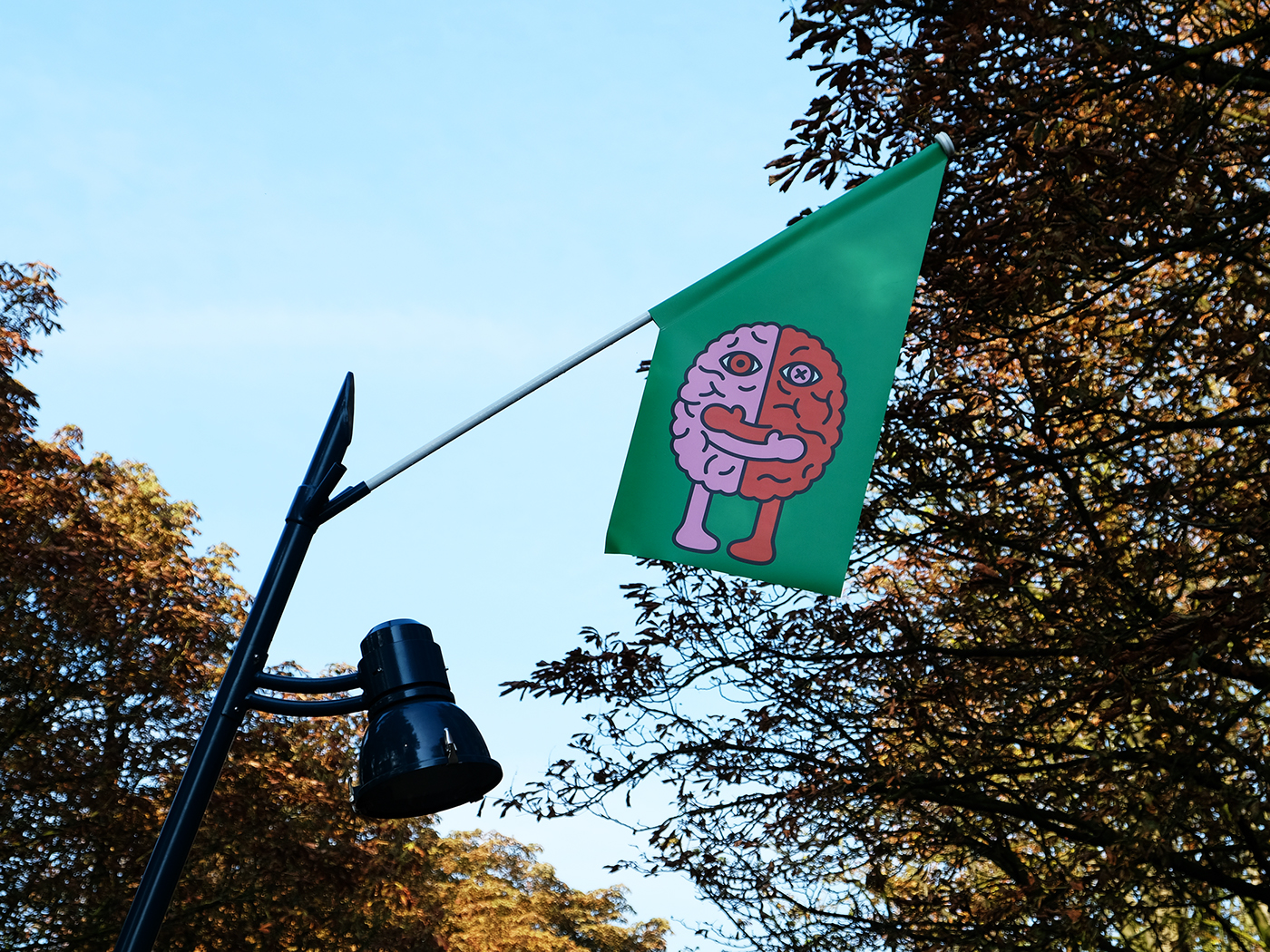 Graphic Matters more hugs Ken Lo flags public art community peace breda Netherlands