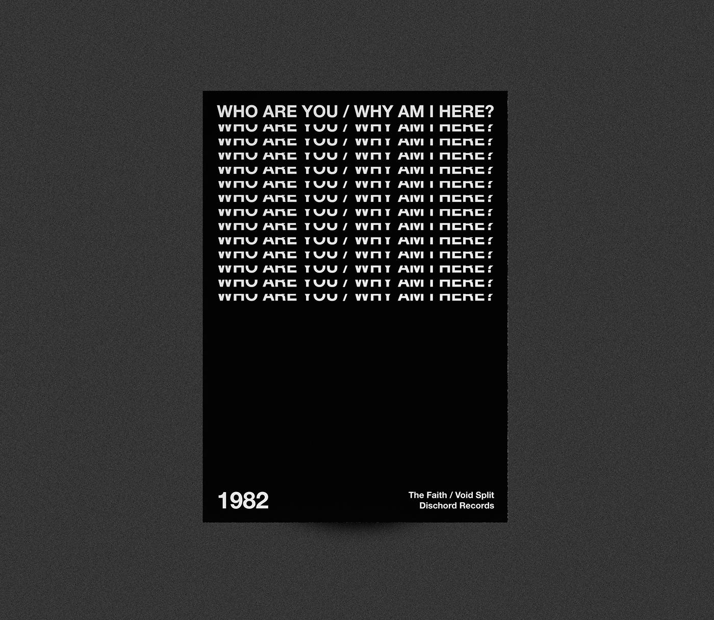 poster plakat helvetica univers akzidenz Futura Punk-Rock hardcore-punk type typography