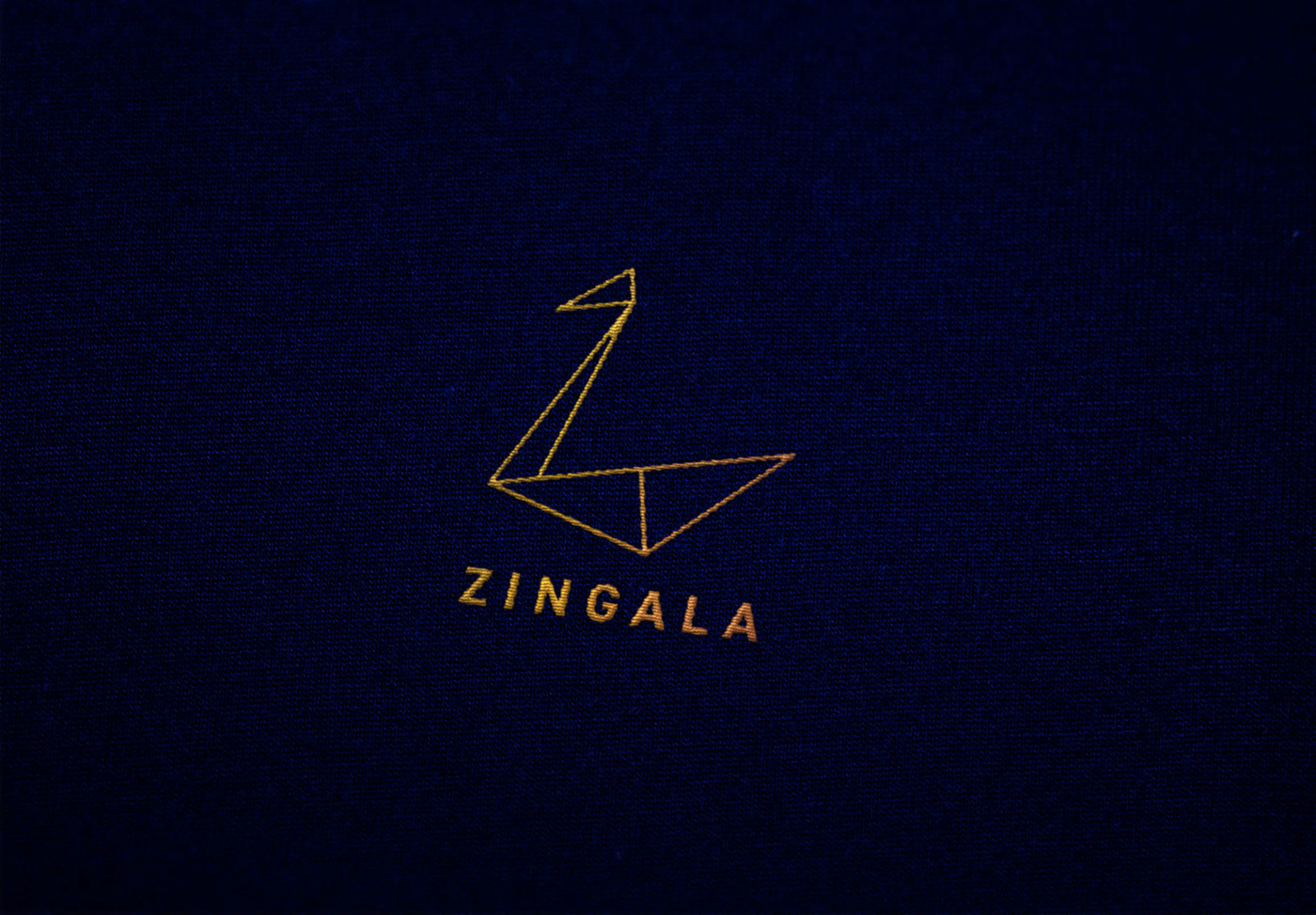 Logo Design visual identity swan logomark sailing origami  mimimal branding