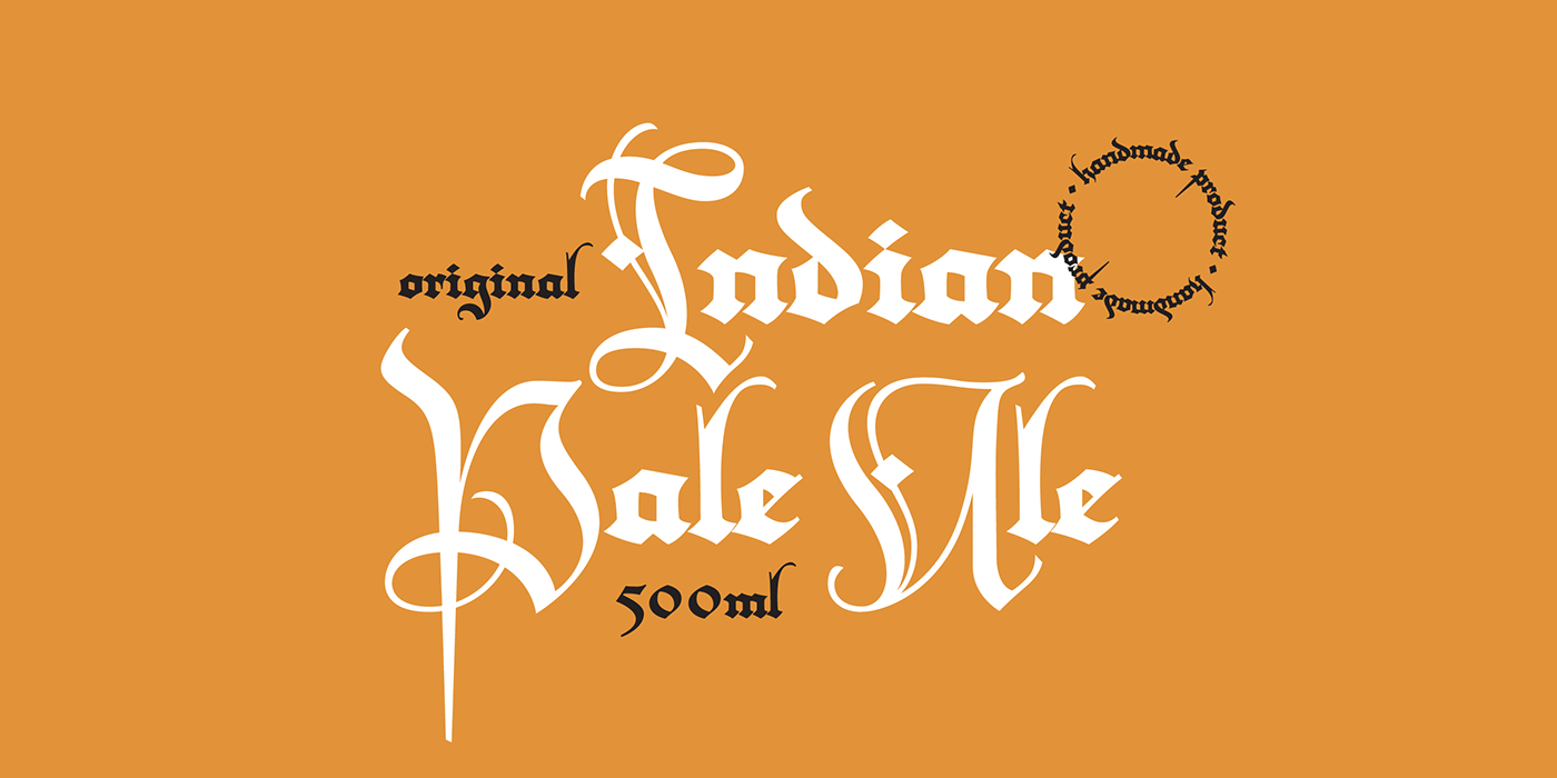 Calligraphy   typography   medieval design sudtipos Meave mexico type design
