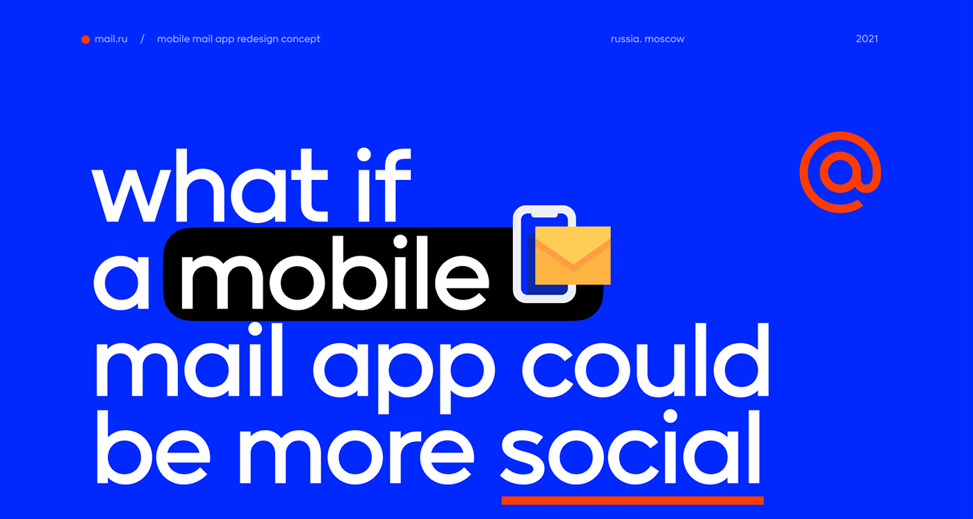 concept Email Figma Interface social Superapp