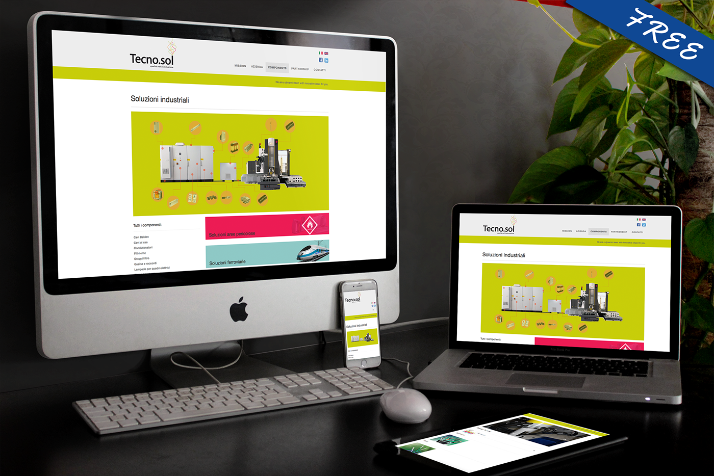 free responsive mock up psd on behance, Powerpoint templates