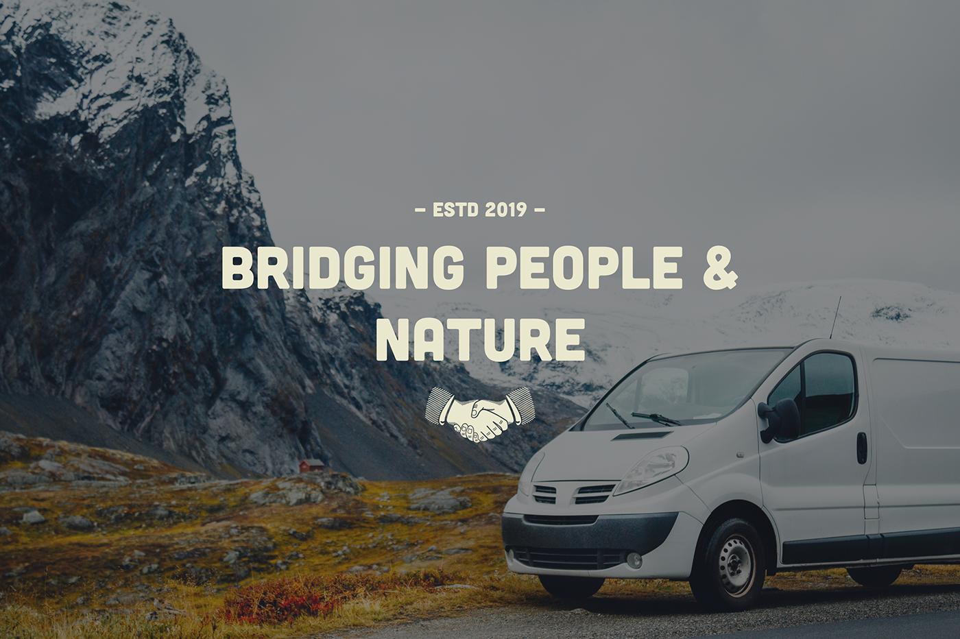 brand Brand Design design vintage heritage adventure people community Logo Design Nature
