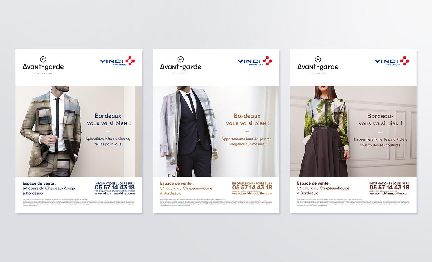 Film   affichage edition campagne pub Bordeaux immobilier habitat luxe stratégie de marque Urbanisme