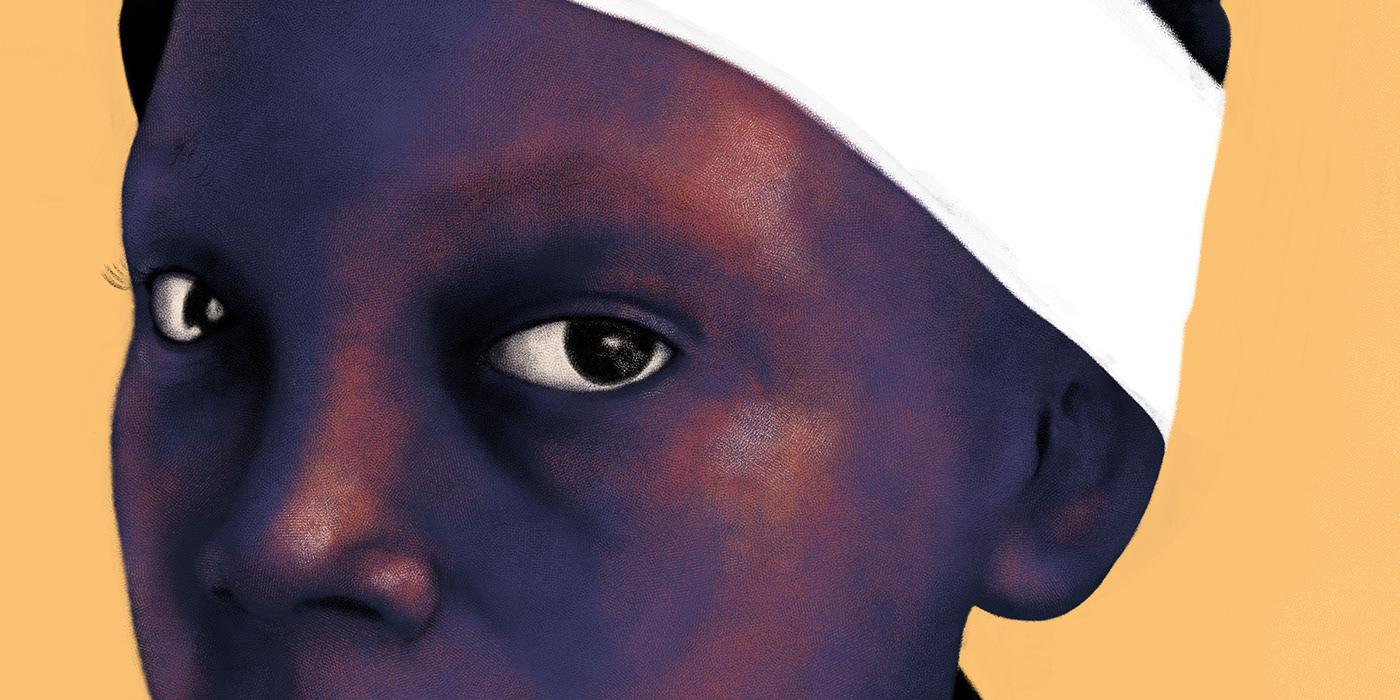 black Slave wakanda girl woman portrait slavery dignity pride africa