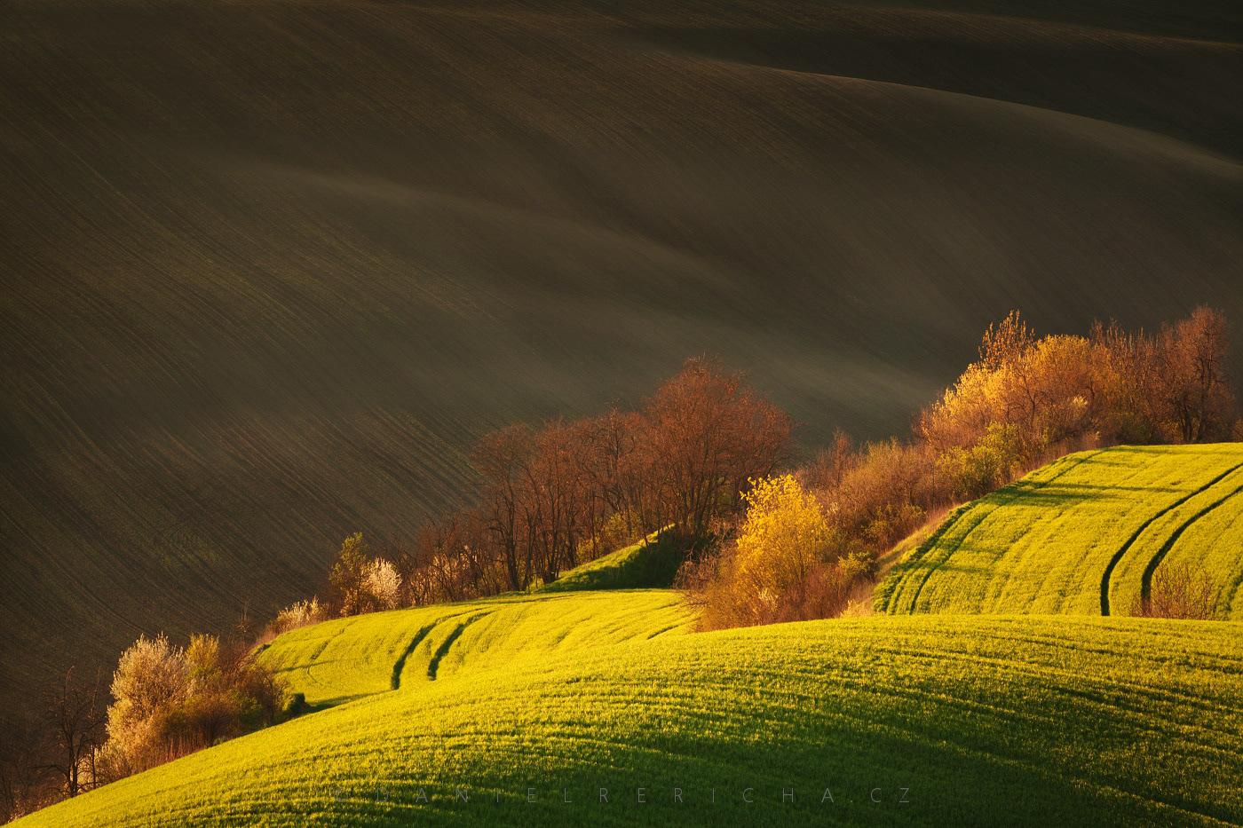 South Moravia, spring Moravian Tuscany