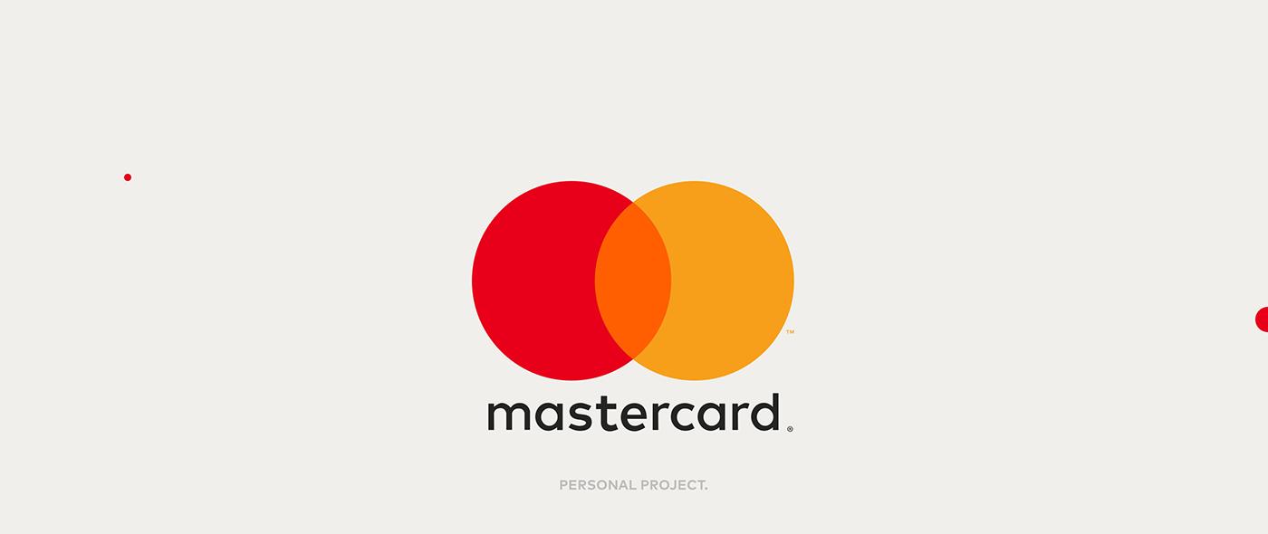 mastercard logo animation on behance