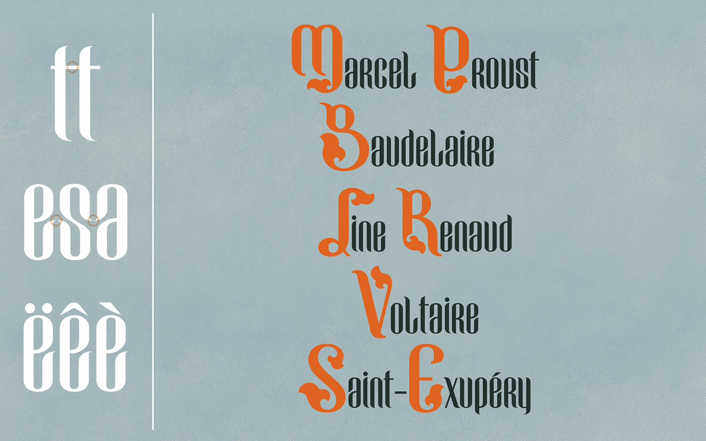 Grunwald old type French art condensed free download