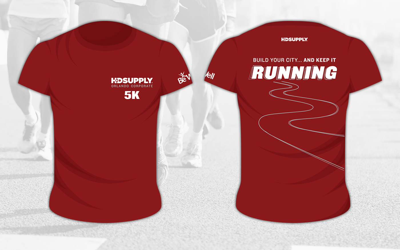 Orlando Corporate 5k Race T Shirt Designs On Behance