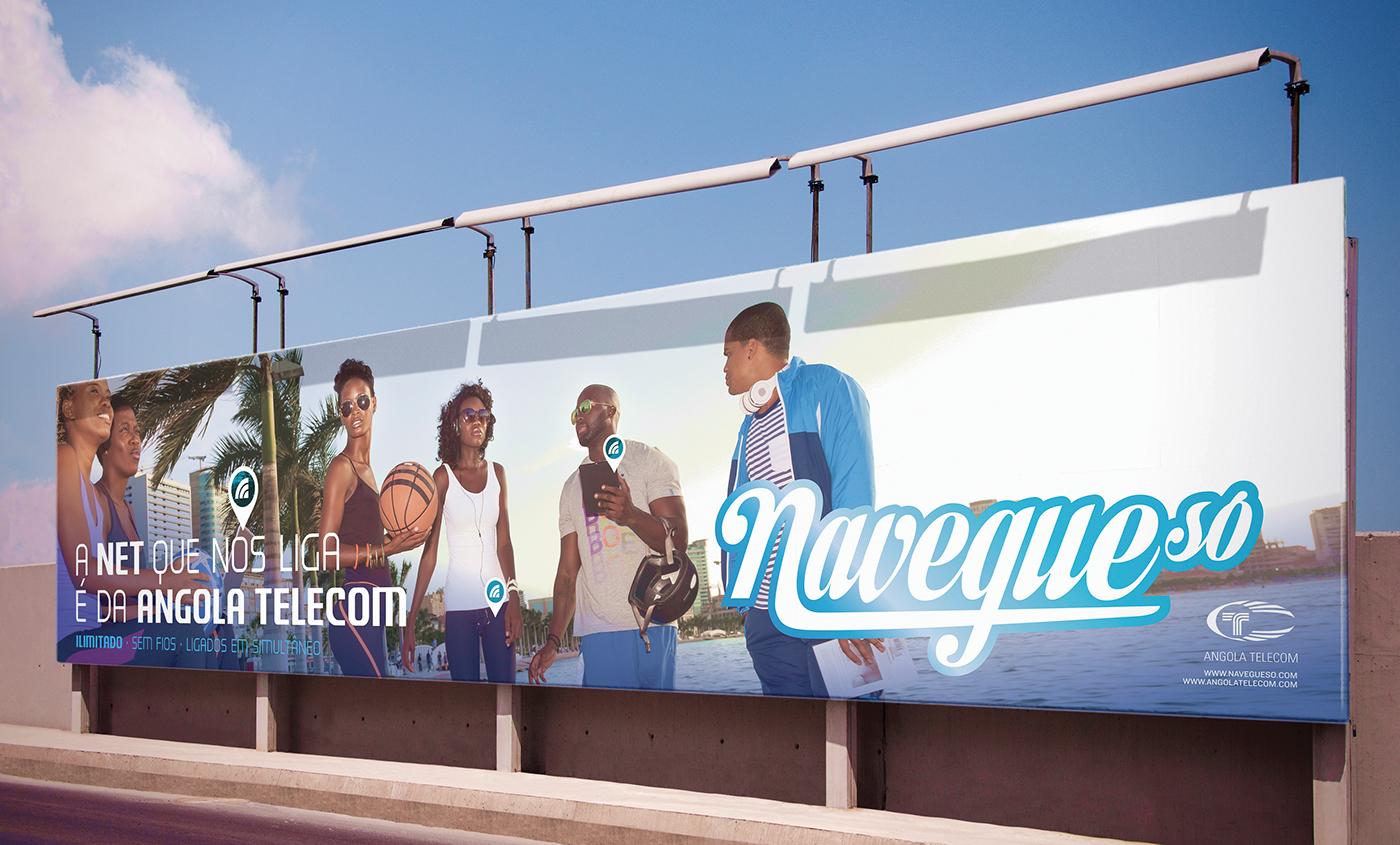 campanha publicitária telecomunicações navegueso africa african