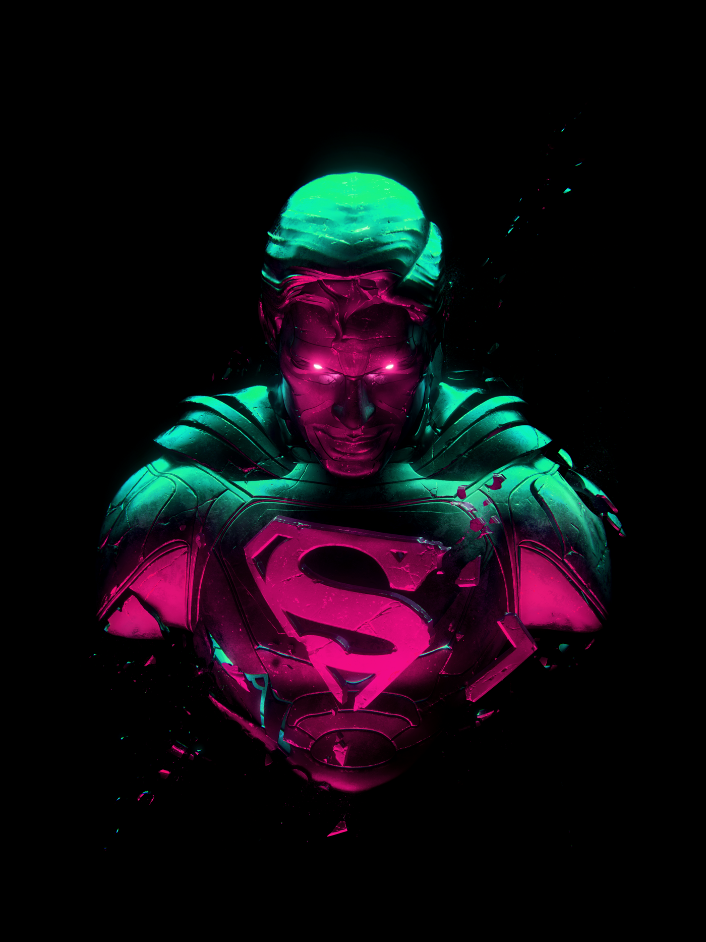 Digital art of Man of Steel by Adam Spizak