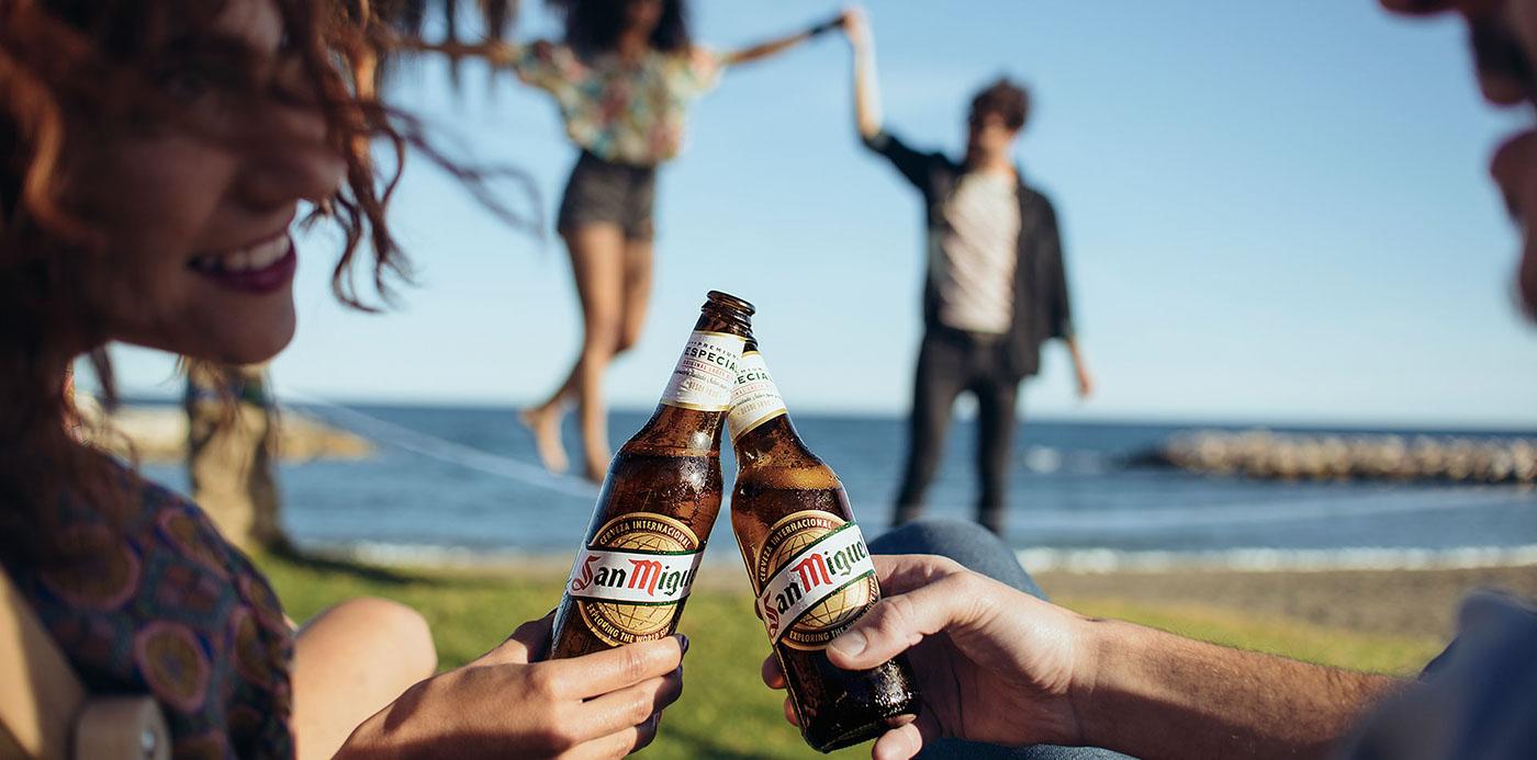 Advertising  art direction  design web print Photography  San Miguel cerveza publicidad beer