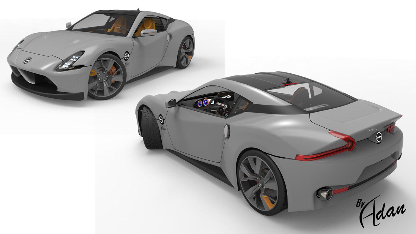 2021 Nissan 400z, ( Fairlady Z35 ) on Behance