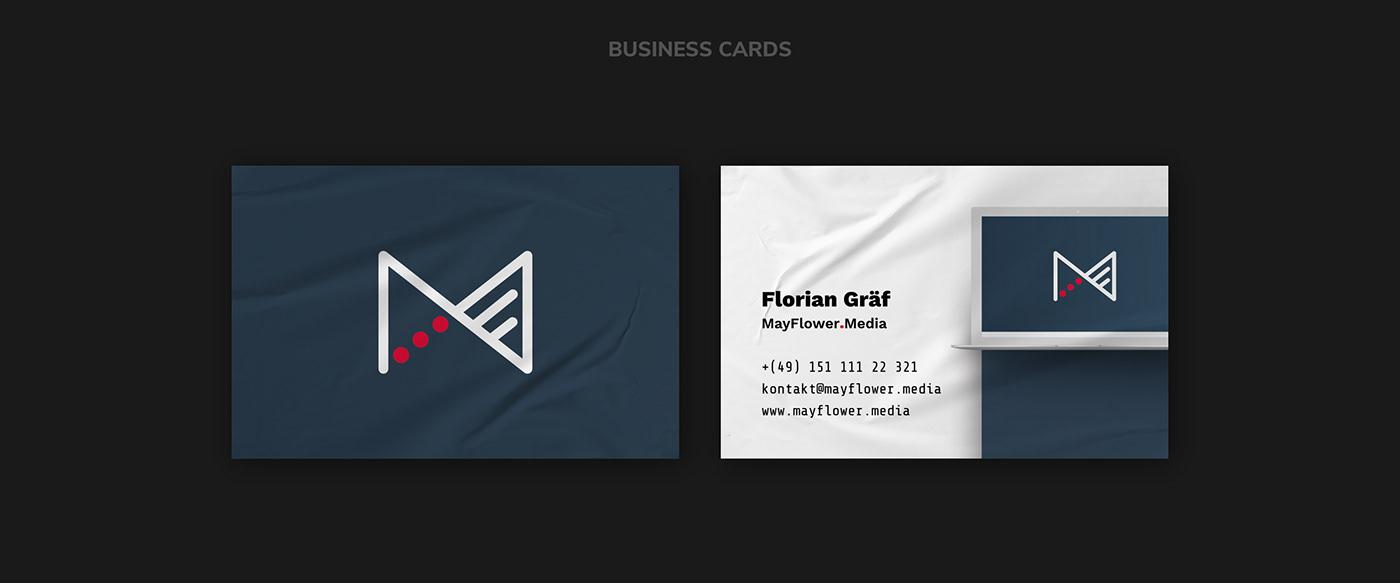 MAYFLOWER.MEDIA // Business Cards