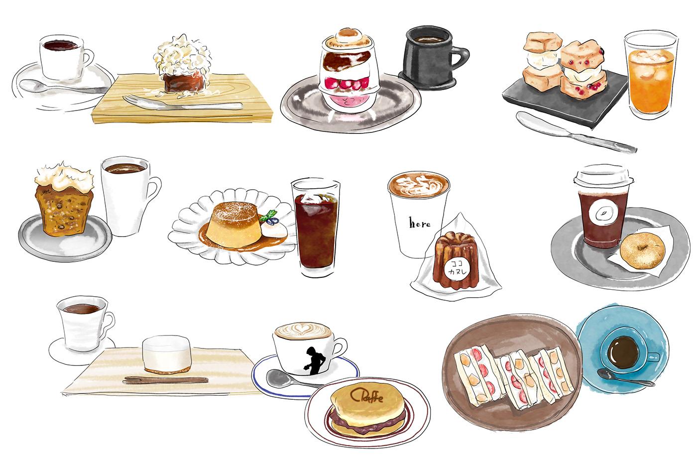 Communityfund illustratedmap ILLUSTRATION  japan kyoto photoshop YUkakamogawa