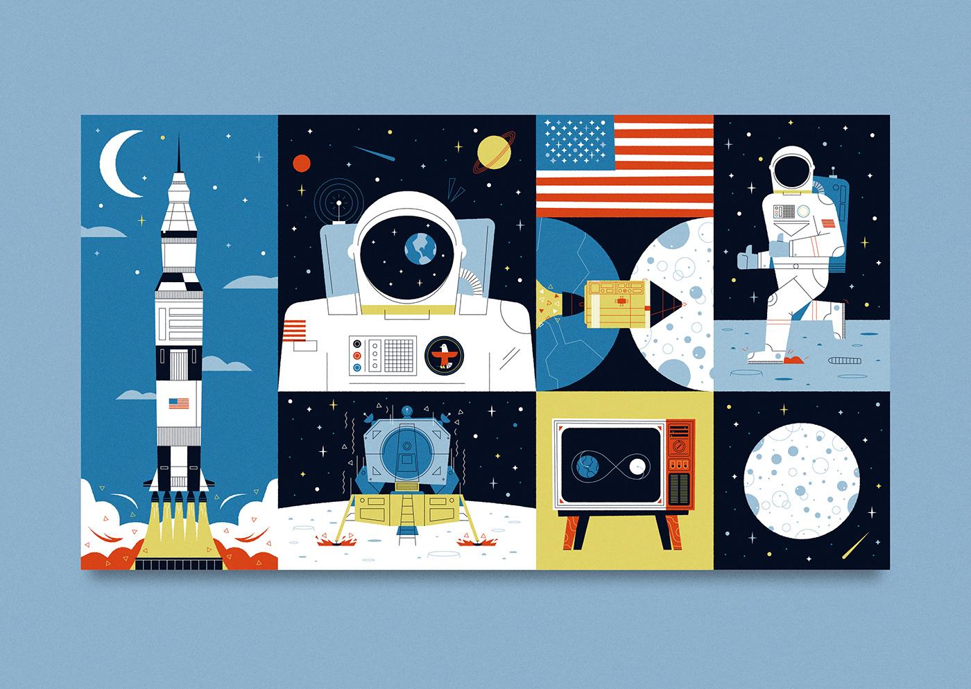 moon landing 2019 funny saiditnet - HD1400×994