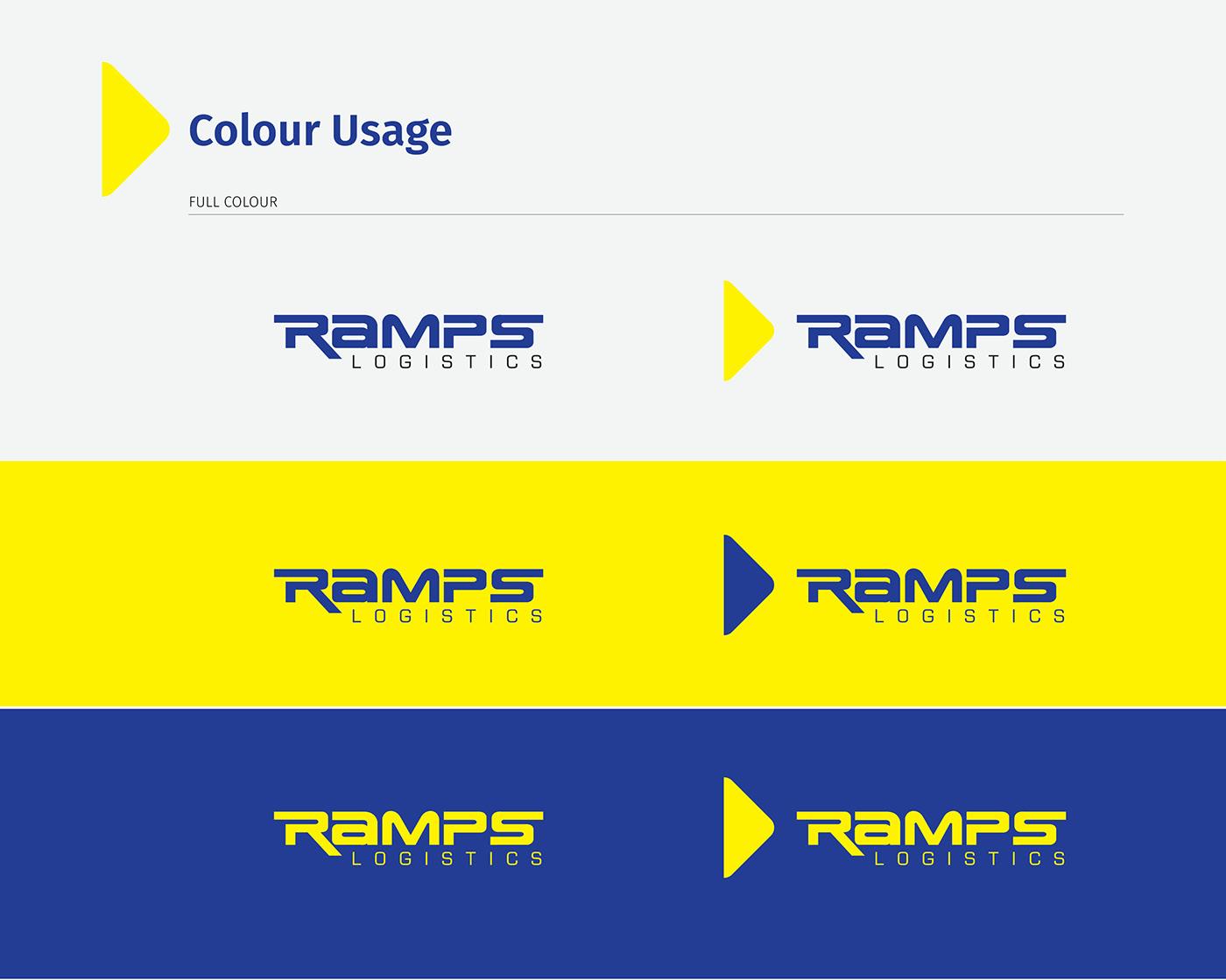 branding  Logistics logistic branding brand brand guide logo Identity Design design elements Trinidad