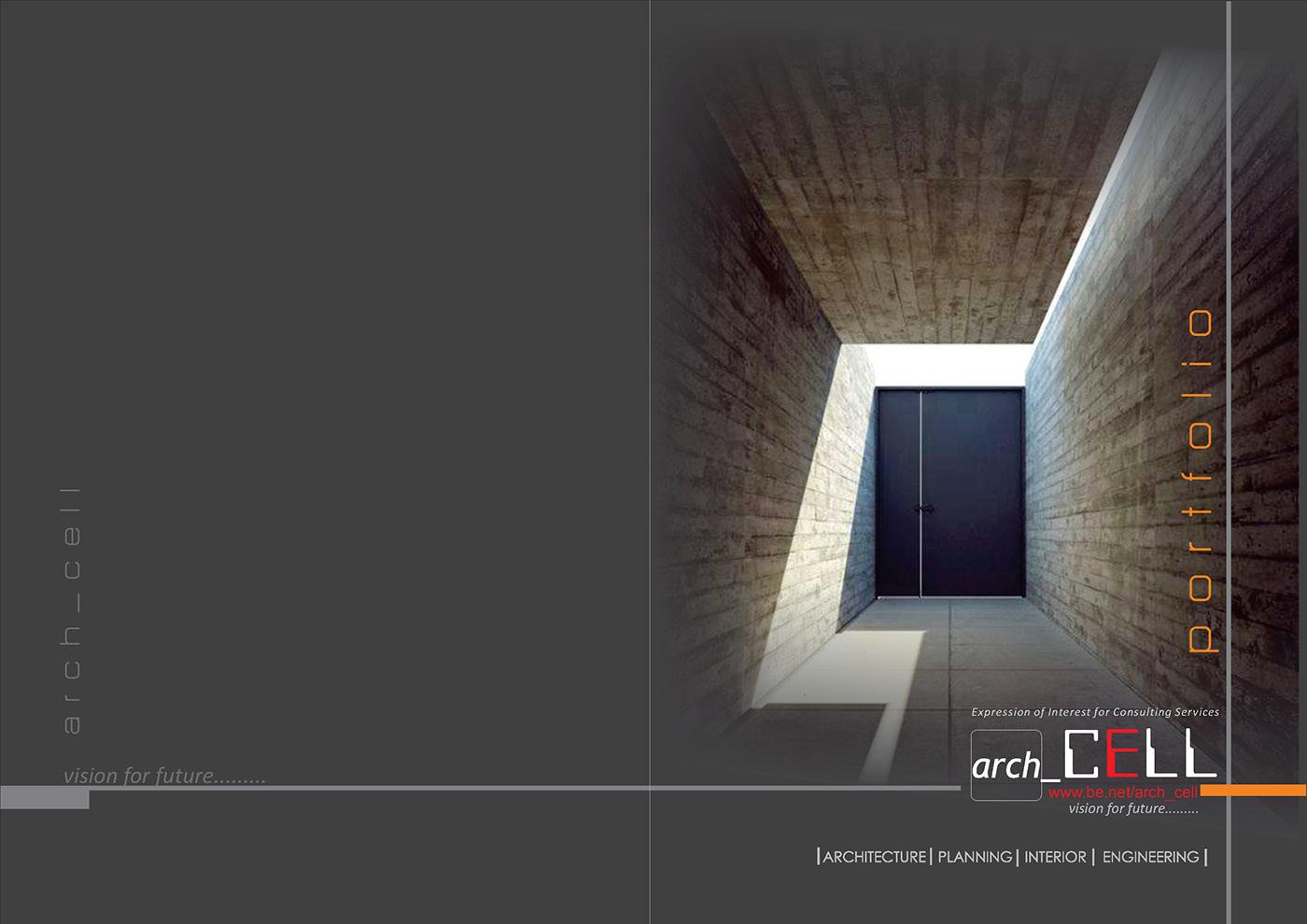 精緻的30款建築系作品集欣賞