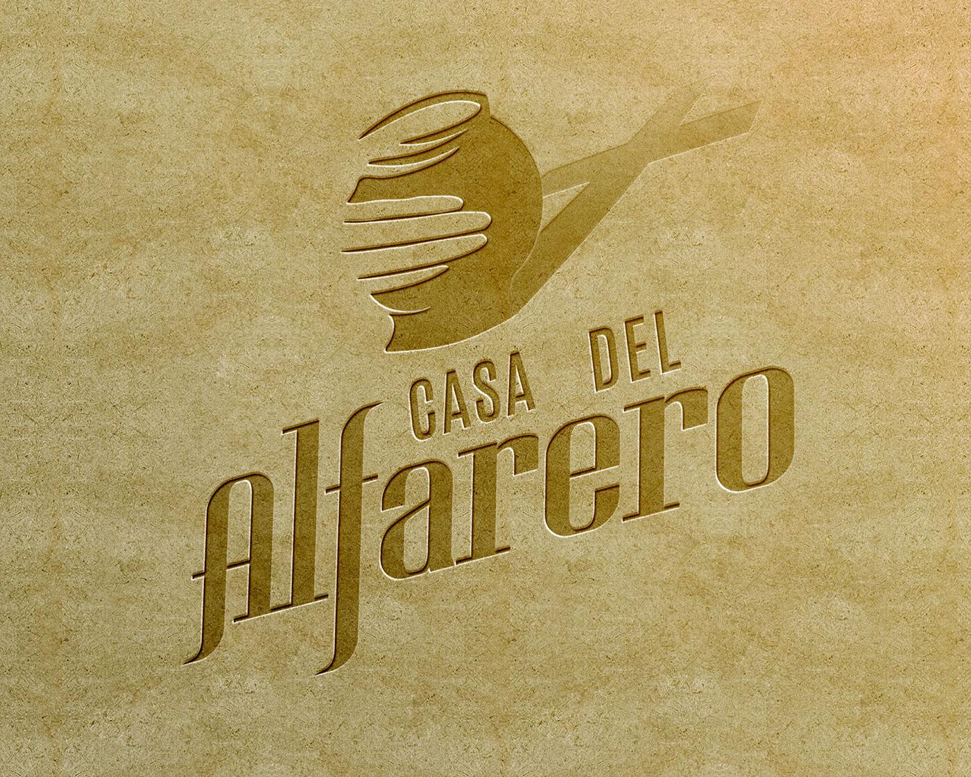 Casa Del Alfarero Logo On Behance
