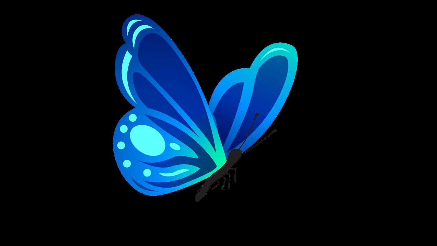 butterfly Illustation dibujo photograpic Fotografia mariposa