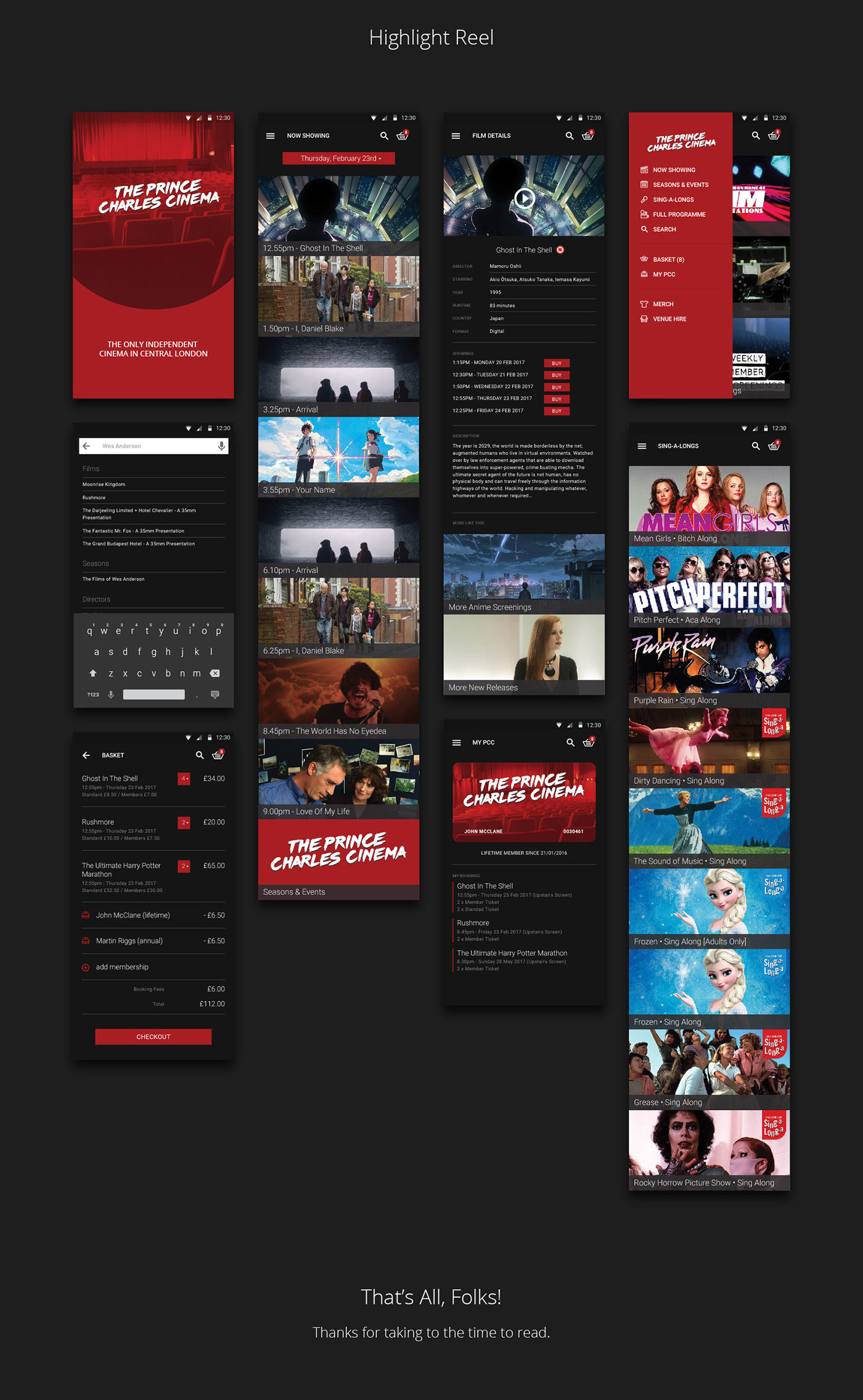 mobile design,Mobile app,android,Cinema,theater ,UX design,product design