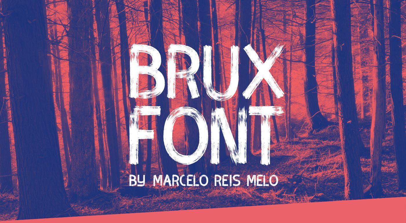 font fonts freefont free type Typeface brush handwritten handmade hand brushfont