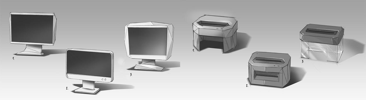 2D 3D Telecommunication b2b paper paper craft lighting compositing modeling stortelling