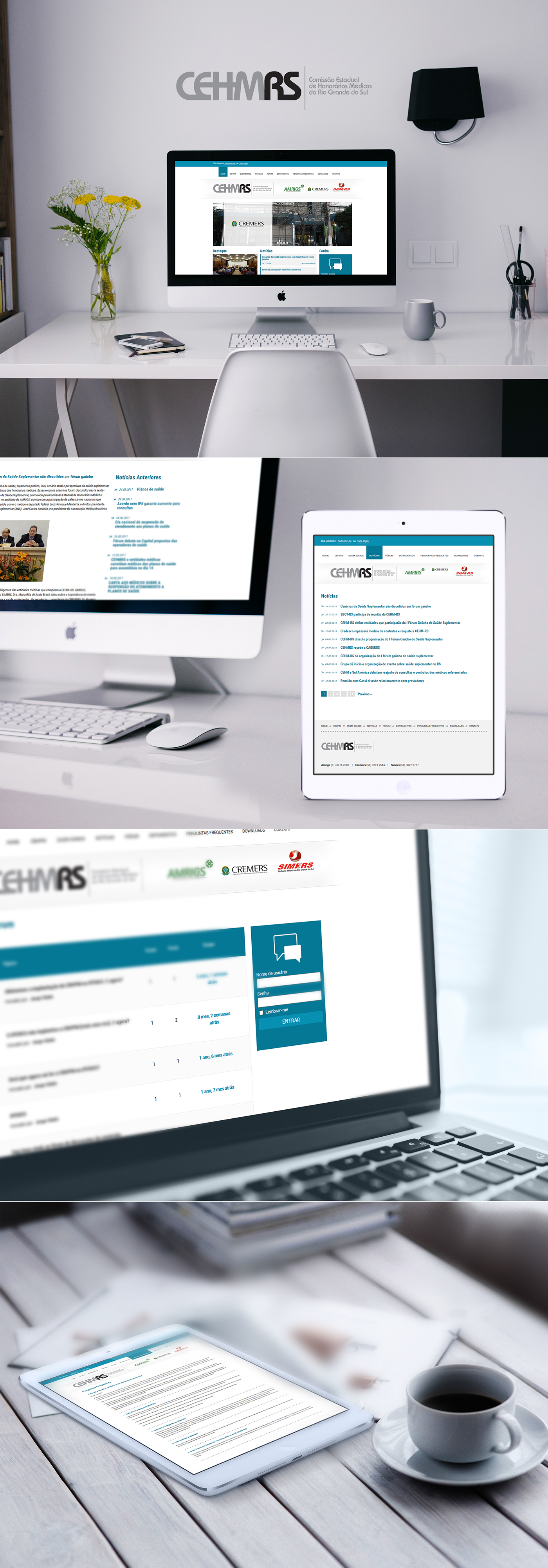 comissao médicos interatividade forum Website Interface