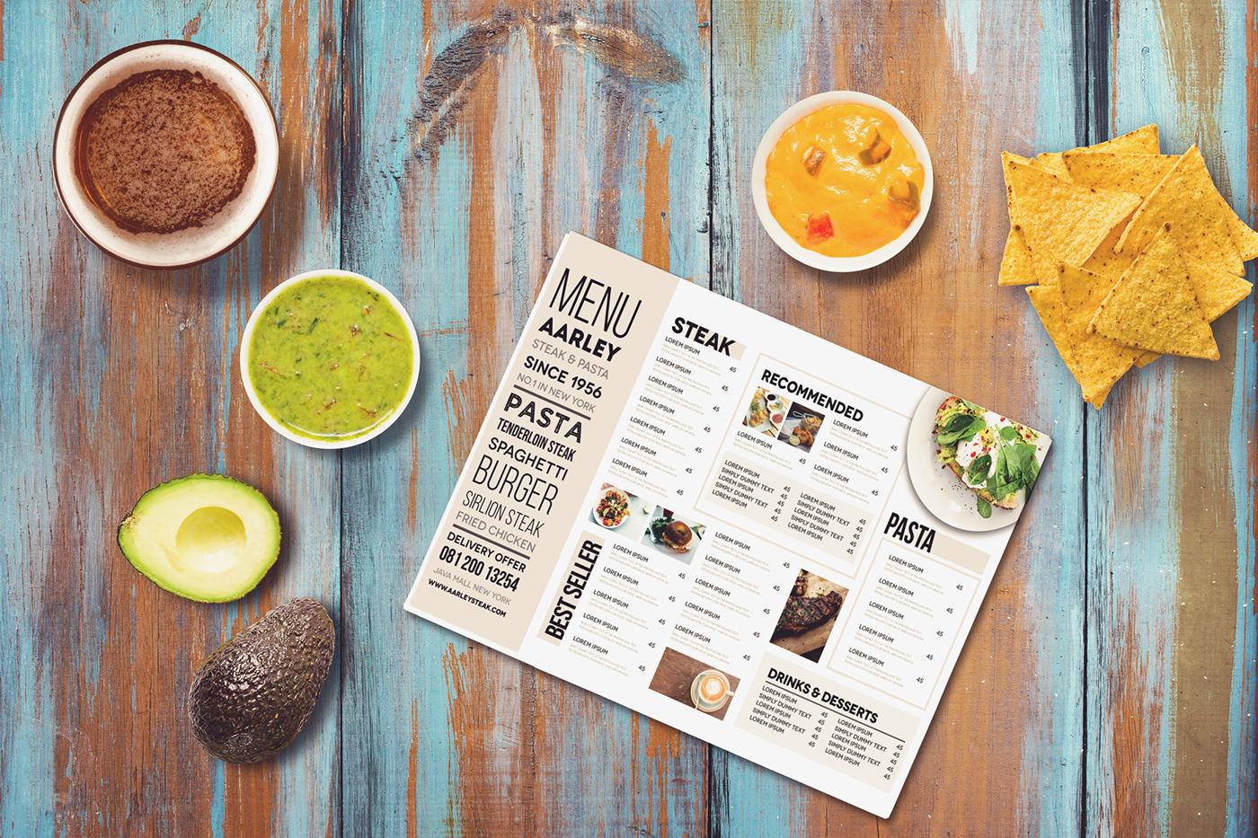 優秀的42套菜單封面欣賞