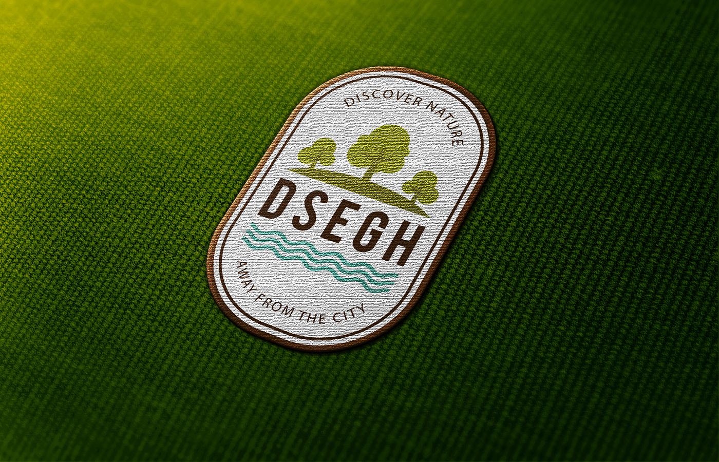 branding  logo badge logo animation Dsegh graphic design  brand strategy Logo illustration