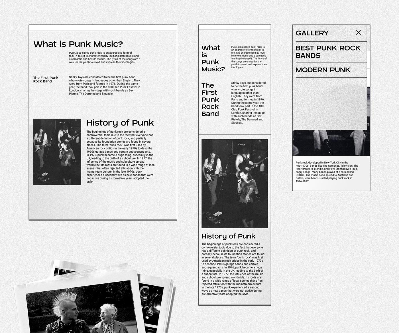 black white Photography  punk rock